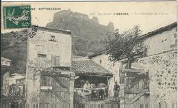 Puy De Dome : Issoire, Environs, Le Chateau De Buron, Belle Carte Animée - Issoire