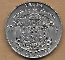 10 Francs 1970 FL - 1951-1993: Baudouin I
