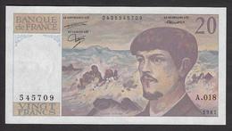 20 Francs Debussy De 1987 - Fay 66/8-18 En Neuf - 1962-1997 ''Francs''