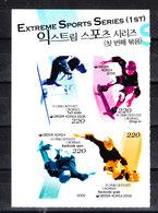 Corea Sud - 2006. Serie Completa In Block Non Dentellato. Complete Series In Block Imperf. MNH RARE - Skateboard