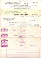 Bolivia 1973 3x Papel Sellado Tipo H&A PS78, Serie X. Parte Testimonio Propiedad Y Anexos Form 96 Y 100-1. - Bolivia