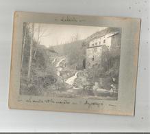 LABACEDE LAURAGAIS (AUDE) 2 PHOTOS ANCIENNES (MOULIN CASCADES ET L'ARGENTOUYRE) - Plaatsen