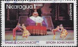 NICARAGUA 1977 Christmas. Scenes From Tchaikovsky's Nutcracker Suite - 1cor - Senora Bonbonierre FU - Nicaragua