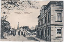 Latvia Germany 1913 Windau Ventspils, Realschule - Lettonie