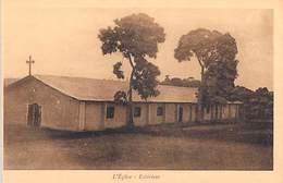 Cameroun Français VICARIAT APOSTOLIQUE DE FOUM-BAN Mission De Bandjoun L'Eglise Extérieur-ETAT=voir Description*PRIX FIX - Cameroun