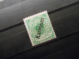 D.R.Mi 2 II   5Pf*MLH  Deutsche Kolonien ( KAROLINEN ) 1900 - Mi 20,00 € - Colony: Caroline Islands
