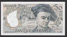 50 Francs Quentin De La Tour De 1987 - Fay 67/13 En Neuf - 1962-1997 ''Francs''