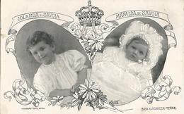 S.A.R. JOLANDA DI SAVOIA E MAFALDA DI SAVOIA -FP - Familles Royales