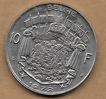 10 Francs 1973 FL - 1951-1993: Baudouin I