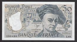 50 Francs Quentin De La Tour De 1991 - Fay 67/17 En Neuf - 1962-1997 ''Francs''
