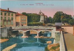 Puy De Dome : Issoire, Les Deux Ponts Sur La Couze - Issoire