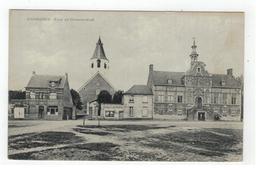 Kaprijke  CAPRIJCKE  Kerk En Gemeentehuis - Kaprijke