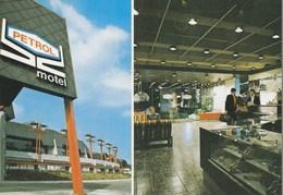 Postcard Motel Petrol Podlehnik Cesta Zagreb-Maribor Slovenia Slovenija Yugoslavia 1977 - Slovénie