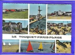 Carte Postale 62. Le Touquet-Paris-plage  Très Beau Plan - Le Touquet