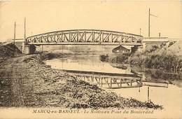 -depts Div.-ref-AE844- Nord - Marcq En Baroeul - Nouveau Pont Du Boulevard - Ponts - Carte Bon Etat - - Marcq En Baroeul