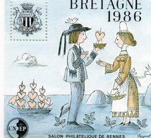 La Bretagne 1986 Salon Philatelique De Rennes - France