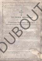 Doodsprentje Joannes-Baptista Meert °1860 Vorst †1892 Vorst Zoon Van Petrus Meert En Catharina Buggenhout (F259) - Obituary Notices