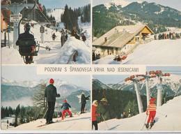 Postcard Spanov Vrh Jesenice Slovenia Slovenija Yugoslavia 1972 - Slovénie