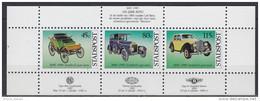 1985 PAYS-BAS Netherlands Benz Velo, Wolseley Landaulette, Bentley Standard Saloon ** MNH Voiture Véhicule Camion [ea79] - Voitures