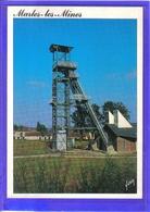 Carte Postale 62. Marles-les-mines  Le Puits De La Fosse  Très Beau Plan - France