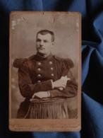Photo CDV Lefievre Couton à Clermont Ferrand - Militaire Soldat Du 38e D'infanterie L409 - Anciennes (Av. 1900)