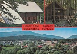 Postcard DOLENjSKE TOPLICE Slovenia Slovenija Yugoslavia 1978 - Slovénie
