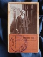 Photo CDV Anonyme - Exposition De Valence 1903 Carte De Sociétaire (Dubois, Fanfare) L409 - Anciennes (Av. 1900)