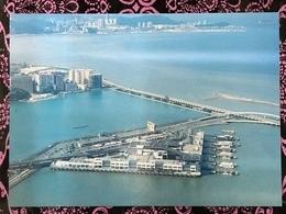 MACAU MODERN BUILDINGS PPC, PRIVATE PRINTING - FERRY TERMINAL - Chine