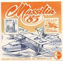 Massilia 85  Salon Philatelique De Marseille - France