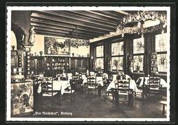 AK Koblenz, Gasthaus Der Reichshof, Innenansicht, Löhrstrasse 107 - Koblenz