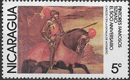 NICARAGUA 1978 Paintings - 5c - Charles V At Battle Of Muhlberg (Titian) MH - Nicaragua