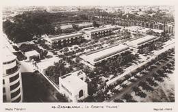 Maroc  - Casablanca  Lot De 2 CPA :  Caserne Heude Photo Flandrin  Et Batterie Marocaine Détruite    Voir Les 2 Scans - Rabat