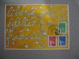 Carte-Maximum 1997  N°  3091 /  3093 / 3083 - 1990-99