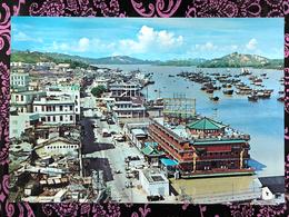 MACAU INNER HARBOUR & THE FLOOTING CASINO PPC, BOOK SHOP PRINTING - Chine