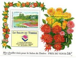 Salon Du Timbre Bloc Feuillet - France