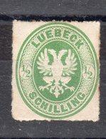 ALLEMAGNE -   Luebeck - N° 8 - Y&T - 1863 - * - Sans Gomme - - Luebeck