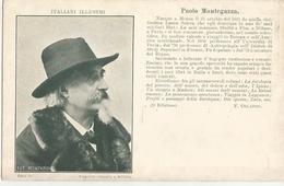 ITALIANI ILLUSTRI-PAOLO MANTEGAZZA  -FP - Celebridades