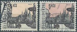 Czechoslovakia 1965 - Prague ( Mi 1582 - YT 1447 ) 2 Shades Of Color - Errors, Freaks & Oddities (EFO)