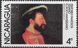 NICARAGUA 1978 Paintings- 4c - Francis I (Titian) MH - Nicaragua