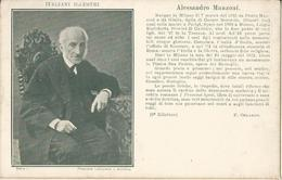 ITALIANI ILLUSTRI- ALESSANDRO MANZONI  -FP - Celebridades