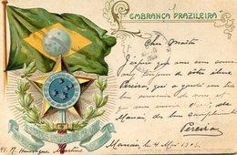 BRESIL(CARTE GAUFREE) - Brésil