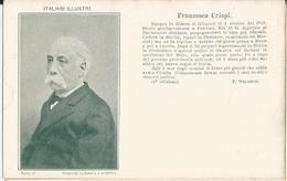 ITALIANI ILLUSTRI- FRANCESCO CRISPI -FP - Celebridades