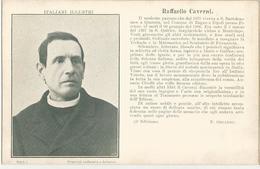 ITALIANI ILLUSTRI- RAFFAELLO  CAVERNI -FP - Celebridades