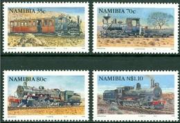 Namibia Namibie 1994 Yvertnr 736-739 *** MNH Chemin De Fer Treinen Trains - Namibie (1990- ...)