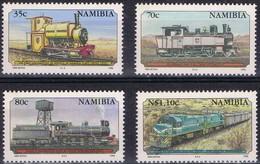 Namibia Namibie 1995 Yvertnr 740-743 *** MNH Chemin De Fer Treinen Trains - Namibie (1990- ...)