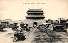 CHINE - UNE PORTE DE PEKIN - Chine