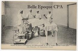 75 - PARIS 12 - 18, Rue Du Sergent-Bauchat - Maison Chirurgicale Des DIACONESSES - Drs BAUMGARTNER Et BONNEL ++++ RARE - Arrondissement: 12