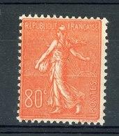 France  :  Yv  203  **                ,     N8 - 1903-60 Semeuse Lignée