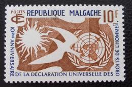 DROITS DE L'HOMME 1958 - NEUF ** - YT 335 - MI 439 - Madagascar (1960-...)