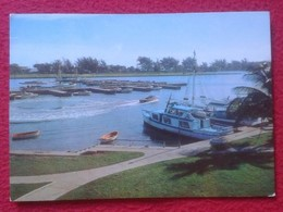 POSTAL POSTCARD POST CARD Isla De Cuba Dársena De VARADERO MATANZAS DOCK. CARTE POSTALE ISLAND VER FOTO/S Y DESCRIPCIÓN - Postcards